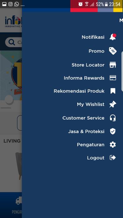 informa android aplikasi member card